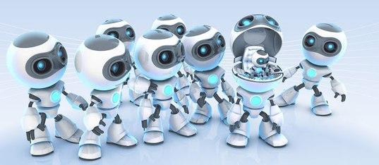 robotics backgrounds - HD2880×1800