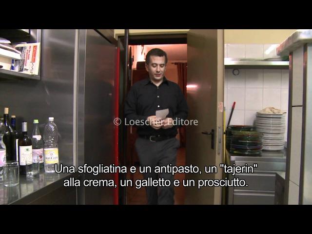 Loescher Italia dal vivo ritratti cuoco con sottotitoli