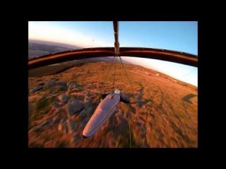 Blay Olmos, Acro Show Hand- Glider
