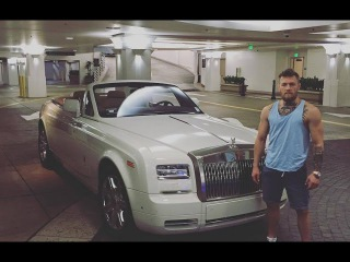 Conor McGregor showed his Rolls Royce and a new Home