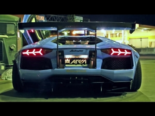 INSANE FLAMES! Lamborghini Aventador LP720-4 Ft.