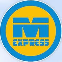 Логотип M-EXPRESS / Автобус и туры в Шерегеш и на Алтай