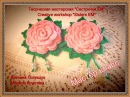 Мастер класс резиночки Роза вязаные крючком / Master class for gum hair Rose crocheted