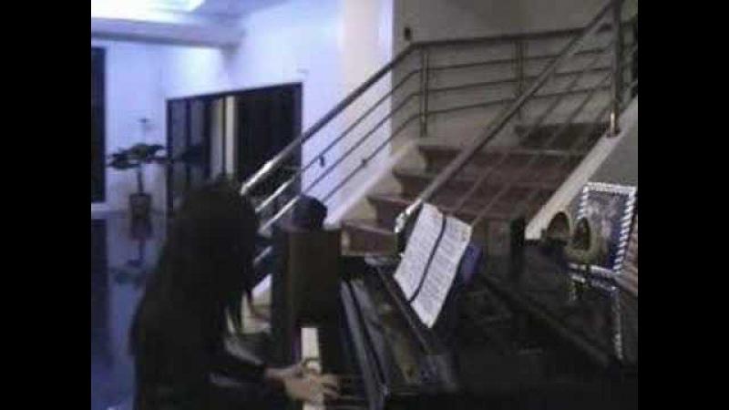 Alodia FF7 Fight Theme Piano Version