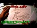 Ninja ZX9R Speedpaint p1