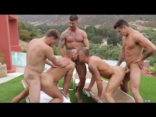 Pool party - philip aubrey , adam killian , jessie colter , trenton ducati , hans berlin [720p]