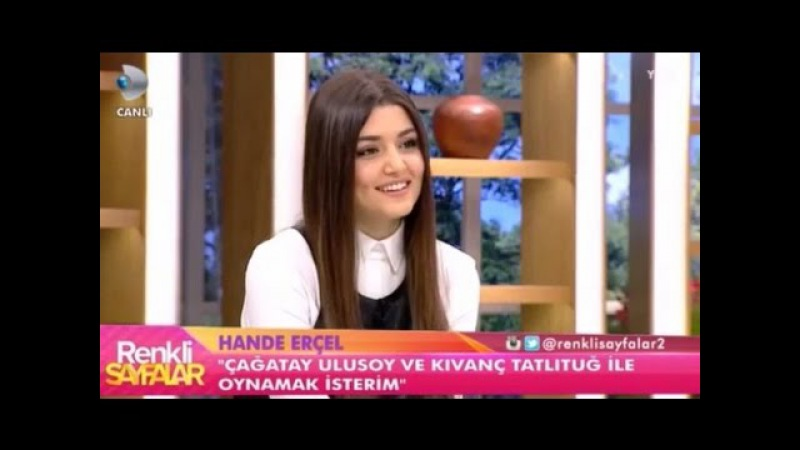 Hande Erçel Tolga Sarıtaşa Aşık mı - Renkli Sayfalar
