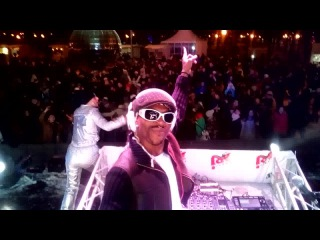 DJSNOOP NNANKITA SPINNING ON RADIO ENERGY END OF YEAR PARTY MOSCOW NRJ