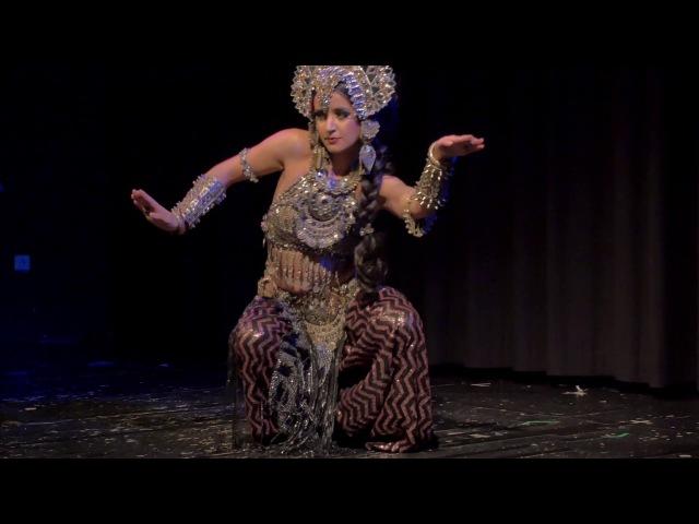 Kira Lebedeva aka Habibi Lal @ TribalFestion Vienna International Dance Event 2016