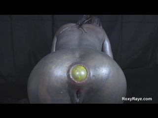 Roxy anal queen pained anal sex huge didlo toys enormous gaped ass fisting streched butt