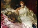 CONRAD KIESEL (1846-1921) German painter ✽ Ernesto Cortazar / Waiting For You