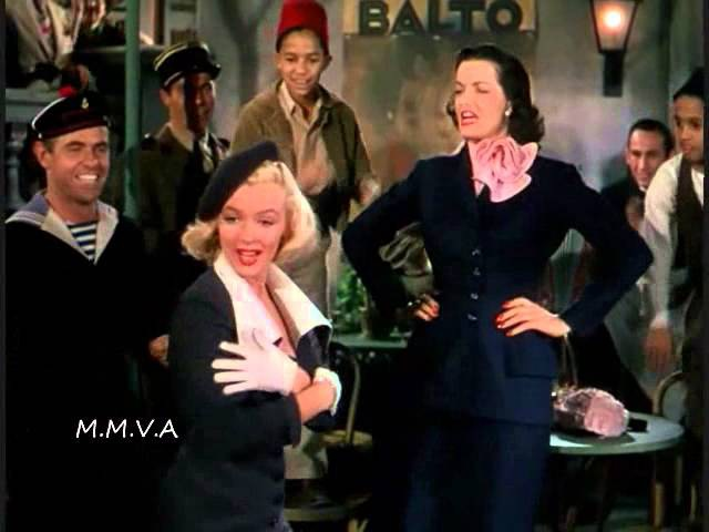 Marilyn Monroe and Jane Russell - When Love Goes Wrong, Nothing Goes Right
