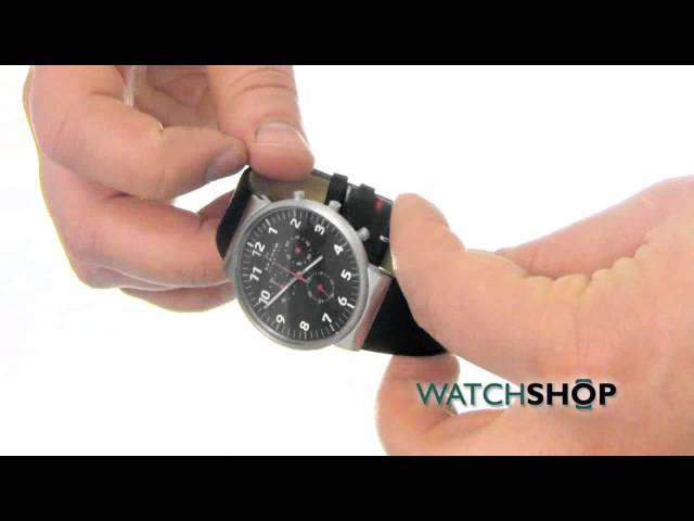 Skagen Mens Ancher Relaxed Chronograph Watch (SKW6100)