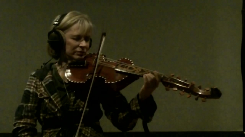 LaDonna plays Amazing Grace on the Viola DAmoire