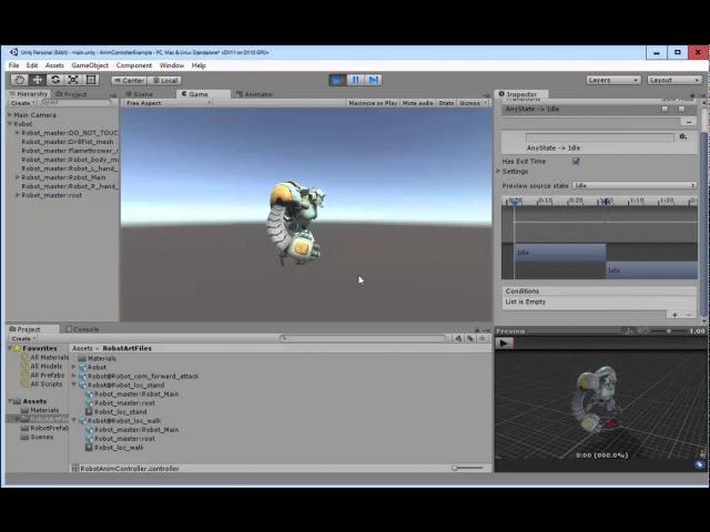 Unity Animator Controller Basics (Best Practices)
