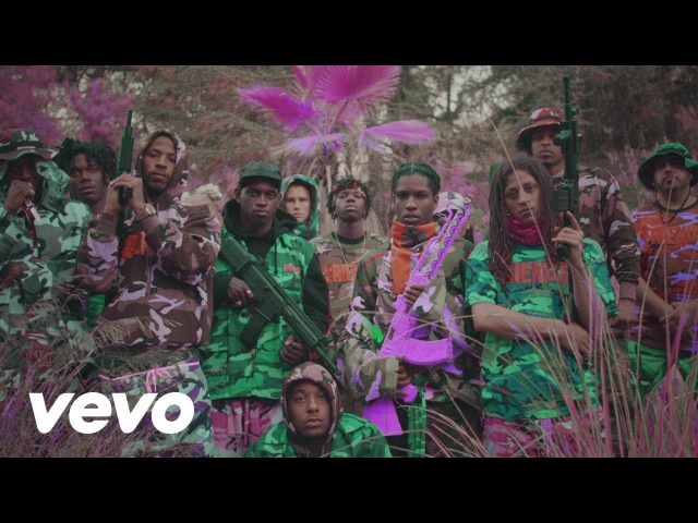 A$AP Mob Yamborghini High Official Music Video ft Juicy J