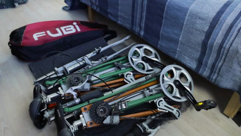 FUBi's Ultra Compact Full Size Folding Bike