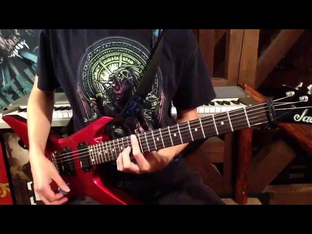 Slipknot Sarcastrophe Guitar Cover HD - (Guitar Only) PLUS LESSON!! Tristan Wilson