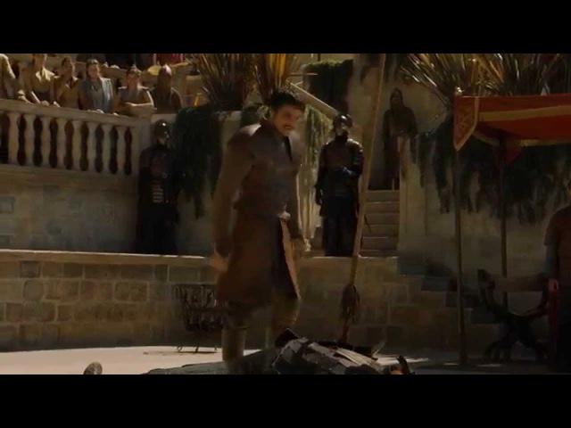 Game Of Trones Оберин против Горы Принц против Горы Поединок в Игре престолов русская озвучка