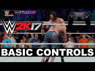 WWE 2K17 Controls: The Basics International