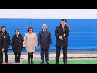 Открытие военно-технического форума  в поселке Сафоново