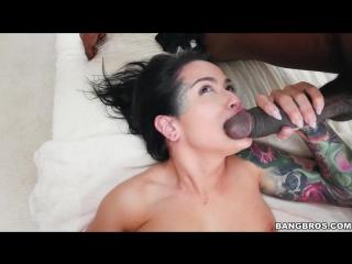[bangbrosclips] katrina jade duel wields black cocks [all sex,threesome,ir,new porn 2017]