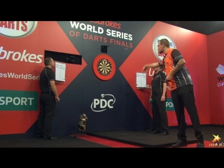 Benito van de Pas vs Phil Taylor (PDC World Series of Darts Finals 2016 / Quarter Final)
