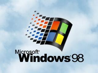 Windows 98 – экран загрузки