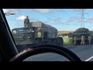 Замечена военная колонна под Одессой 18+
