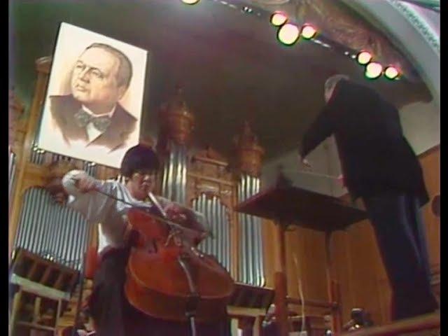 Natalia Gutman plays Myaskovsky Cello Concerto video 1985