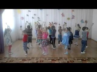 Средняя группа танец с ложками