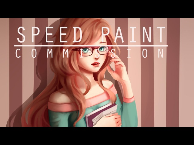 Speed paint- Commission half body- Paint tool sai- Lulybot