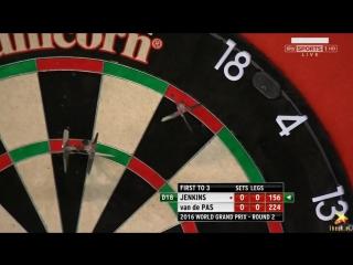 Terry Jenkins vs Benito van de Pas (PDC World Grand Prix 2016 / Round 2)