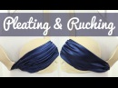 Pleating Ruching for decorating dance costumes