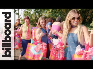 Rachel Platten Makes Breast Cancer Patient Care Packages WithFord's Warriors in Pink | Billboard