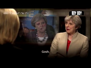 """Theresa May using the classic """"wheat-field double-bluff"""""""