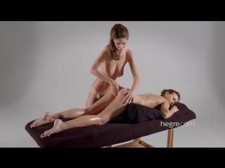 [Hegre-Art] Charlotta & Karina - Lesbian Tantric Massage