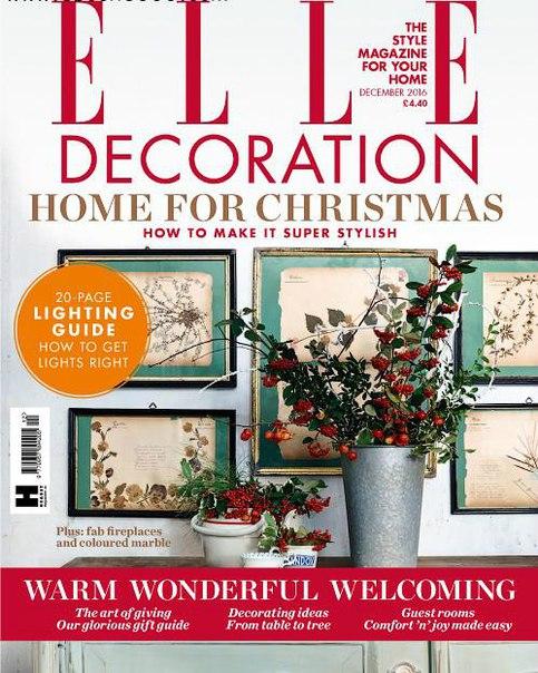 Elle Decoration UK - December 2016 (1)