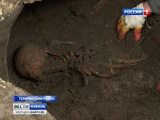 В Крымском районе перезахоронят останки советских бойцов