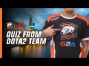 Win signed VP shirt! Quiz from Dota 2 team