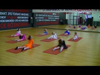 Отчетное занятие в Академии детского развития и танца в Озерках (демонстрация физических элементов, группа 4-5 лет, )