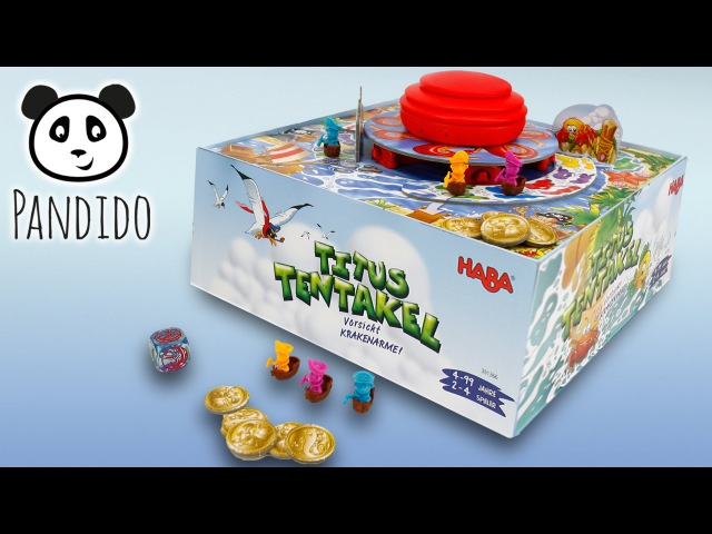 ⭕ HABA Titus Tentakel Unboxing Spielzeug ausgepackt und angespielt Pandido TV