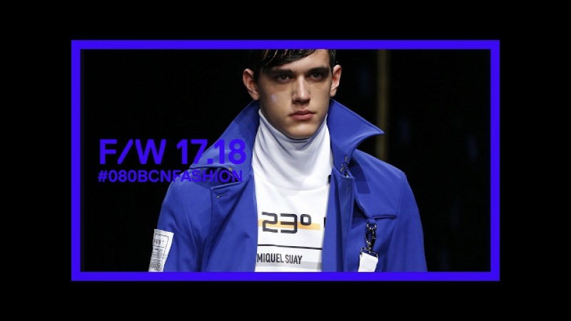 Miquel Suay Fall Winter 2017 18 080BcnFashion 080 Barcelona Fashion