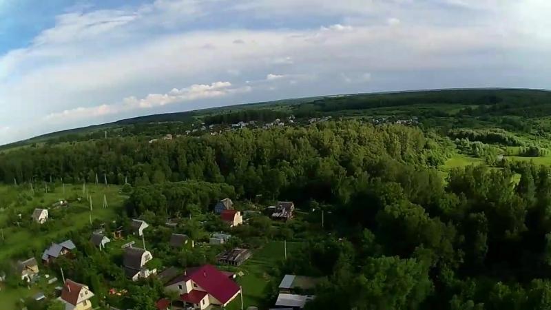 Квадрокоптер над Алёшней Тульская область