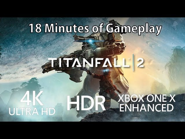 4K Titanfall 2 gameplay running in 4K on Xbox One X
