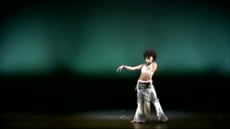 Tribal Fusion Belly Dance - Hip Hop Belly Dance - Ebony 5499