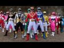 All Power Rangers Legendary Morphs Mighty Morphin - Samurai Power Rangers Super Megaforce