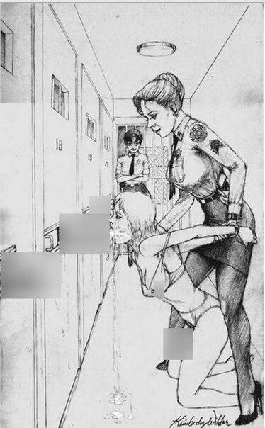 Ужасное наказание лесбиянок