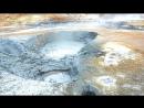 Hverir geothermal area Ísland