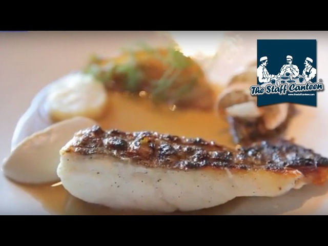Michelin star chef Graeme Cheevers creates a recipe of barbequed Scrabster turbot with mushrooms
